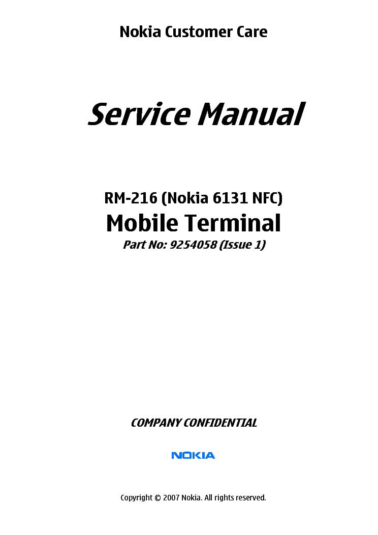nokia 6131nfc rm 216 l34 service manual download schematics rh elektrotanya com